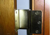 Door hinge extentionsions give doorways a few inches of added width.